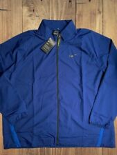 Nike Men's Sz 4XL Dry Woven Gym Training Mock Full Zip Jacket