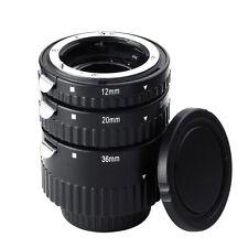 Mcoplus N-AF1-B Auto Focus Macro Extension Tube Set Ring for Nikon D7100 D7000