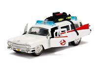 GHOSTBUSTERS Auto Ambulanza ECTO-1 Modello 13cm 1/32 DieCast Originale JADA TOYS