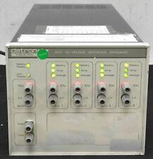 Datron Wavetek Fluke 4911 4 Cell 10vdc Reference Standard New Batteries