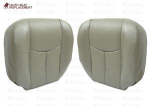 2003-2006 Chevy Tahoe Suburban & GMC Yukon Driver & Passenger Seat Cover Gray