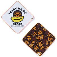 A Bathing Ape 1st CAMO SPORT TOWEL Yellow Auth fr BAPE Japan New