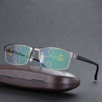 Progressive multifocal Half Reading glasses Transition Photochromic Sunglasses
