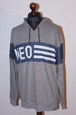 Adidas Neo men's grey hoodie Size XL