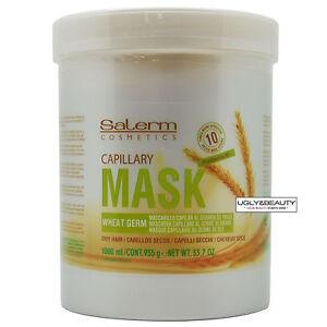 Salerm Capillary Mask Wheat Germ 1000 ml / 33.7 Oz. / 955 g for Dry Hair