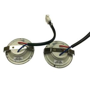 RANGE HOOD LIGHT BULBS 2-Watt 12Volt Soft LED Appliance Replacement Parts 2-PACK