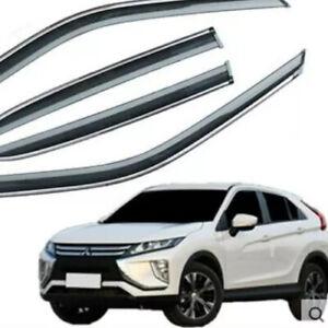 WINDOW VISORS for Mitsubishi Eclipse Cross / DEFLECTOR RAIN GUARD VENT SHADE .