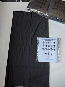 The Original Multifunctional Seamless Wear Black Pack of 10 SEALED New