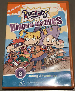 Rugrats Diapered Detectives DVD Nickelodeon R4