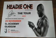 More details for headie one - live music show nov 2021 promotional tour concert gig poster