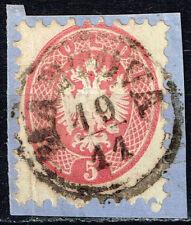Austria Lombardy-Venetia Emperial Eagle rare classic stamp 1864