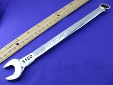 """Snap On SOEX22 11/16"""""""" 12 Point Combination Wrench Excellent Condition  USA"""