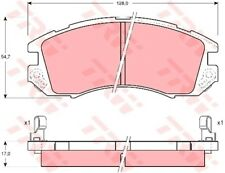 Bremsbelagsatz Scheibenbremse TRW GDB989 vorne für IMPREZA GC LEGACY 1 BC BJF GF