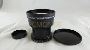Opteka 3.2x AF High Definition II 37mm 52mm Telephoto Camcorder Auxilliary Lens