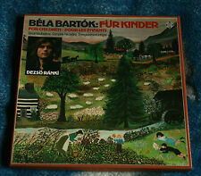 BELA BARTOK FUR KINDER GERMANY 2LP BOX TELEFUNKEN 6.35338 EK, DEZSO RANKI