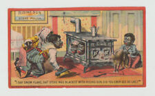 Victorian Trade Card,  Rising Sun Stove Polish, An Acrostic