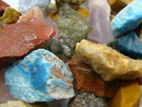 Madagascar Premium Rock and Gem Mix  - 2 1/2 LB Lot - TUMBLING ROUGH FREE SHIP