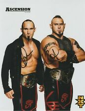 The Acension Authentic Autographed Wrestling 8x10 Photo WWE NXT AEW