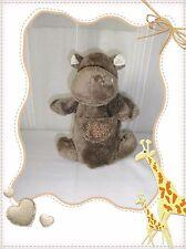 F - Doudou Marionnette Hippopotame Marron Histoire d'Ours