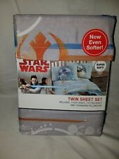 Star Wars Twin Sheet Set Rey BB8 R2D2 (3 pieces)