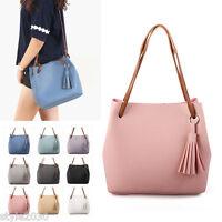 NEW Women Shoulder Bag Tote Messenger CrossBody Faux Leather Purse Handbag