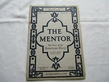 Mentor The Story Of The American Navy Department Of History April 16 1917