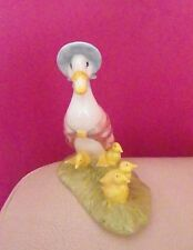 BESWICK BEATRIX POTTER FIGURE - JEMIMA AND HER DUCKLINGS BP10A - PERFECT !!