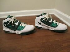 best service eb9d0 13b5a Used Worn Size 11.5 Nike LeBron Zoom Soldier IV TB Witness Shoes Green White