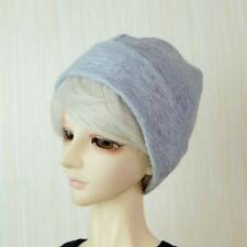 "Grey Beanie Hat Knit For 1/3 24"" 60cm  Tall BJD SD DK AOD LUTS DIM VOLKS Doll"