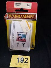 Warhammer Dark Elf Banners (x10) Brand new in blister Rare OOP