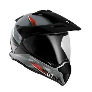BMW GS Carbon Xplore Helmet - Many Sizes - NEW - FREE SHIPPING