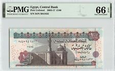 Egypt 2004 PMG Gem UNC 66 EPQ 100 Pounds