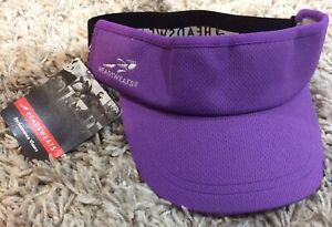 Headsweats Reflective Supervisor Purple Visor *New with Tags* Running Triathlon