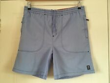 Blue Mens Fat Face Shorts Size Small Waist 36 Inches