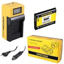 Batteria + caricatore Synchron LCD USB per Olympus VR-350,VR-360,XZ-1,TG-870