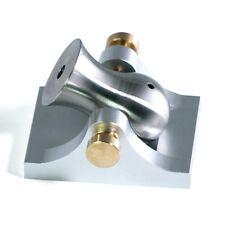 Pocket Artillery Mini Cannon - Silver W/ Brass Hardware