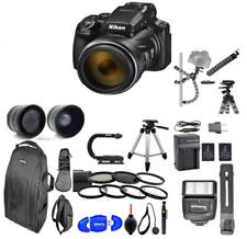 Nikon Coolpix P1000 16MP 125x Super-Zoom Digital Camera + Lens Complete 77mm HD
