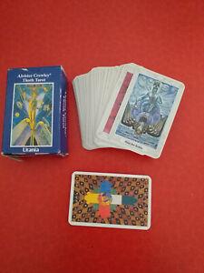 Aleister Crowley Thoth Tarot, Wahrsagekarten, Karten legen