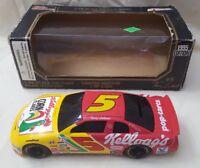 1995 Edition Racing Champions #5 1:24 Scale Diecast Car Bank & Key  NASCAR