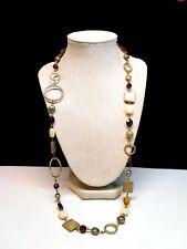 Toned Necklace Strand Lia Sophia Gold