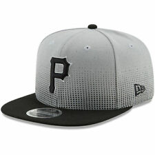 New Era Pittsburgh Pirates Gray/Black Flow Team 9FIFTY Adjustable Snapback Hat