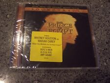 """Prince of Egypt"" SEALED SOUNDTRACK CD WHITNEY HOUSTON, MARIAH CAREY W/HYPE"