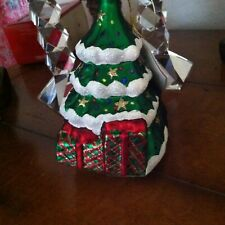"Margaret Cobane Original 5 1/2"" Tree Colorful Tree Ornament Nwt"