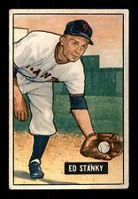 ED STANKY 51 BOWMAN 1951 NO 13 VGEX+  21234
