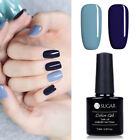 2pcs UR SUGAR Blue + Gray Gel Nail Polish UV LED Gel Lamp Varnish Manicure 7.5ml