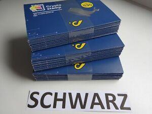 30x Crypto Stamp 3.0 Wal SCHWARZ Whale 2021