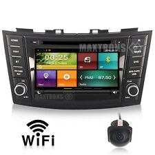 Car DVD Autoradio 3G GPS Navi Radio RDS For Suzuki Swift 2011-2013 Free Camera