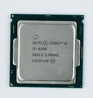 Intel Core i5-6600 SR2L5 LGA 1151/Socket H4 3.3GHz Desktop CPU
