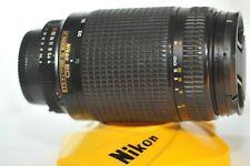 Nikon AF Nikkor 70-300mm 4-5.6 ED D FX lens for FM2 F100 D610 D7500 DF D850 D500