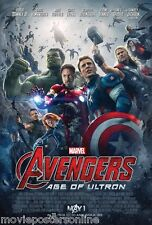 DISNEY MARVEL AVENGERS 2 AGE OF ULTRON MOVIE POSTER DS 2-sided 27x40 mopool